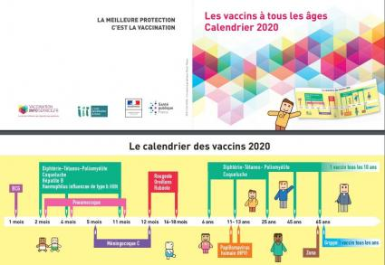 Calendrier vaccinal 2020